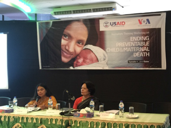 Workshops on Maternal and Child Health, Water, and Sanitation