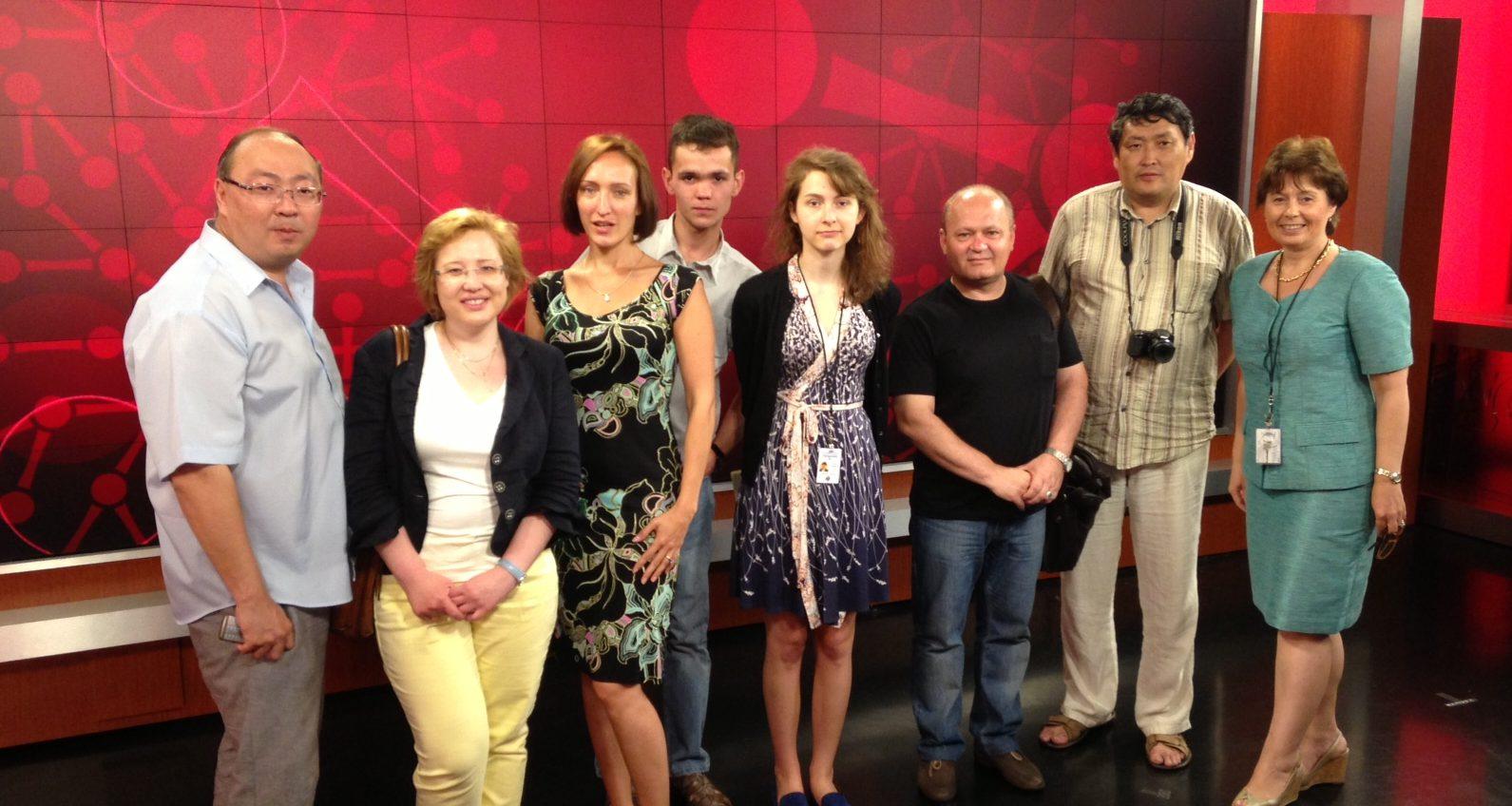 Russian Journalist Training
