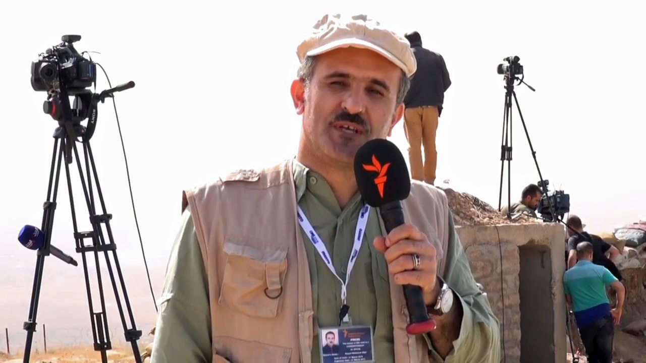 RFE/RL video journalist wounded in Mosul