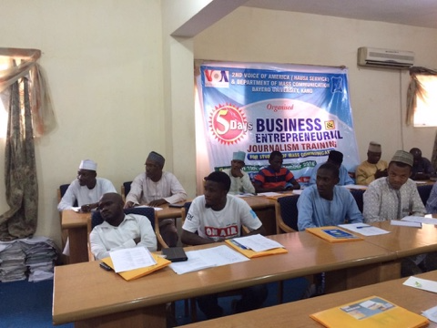 Training Nigerian Journalists on Entrepreneurship: Kano and Kaduna