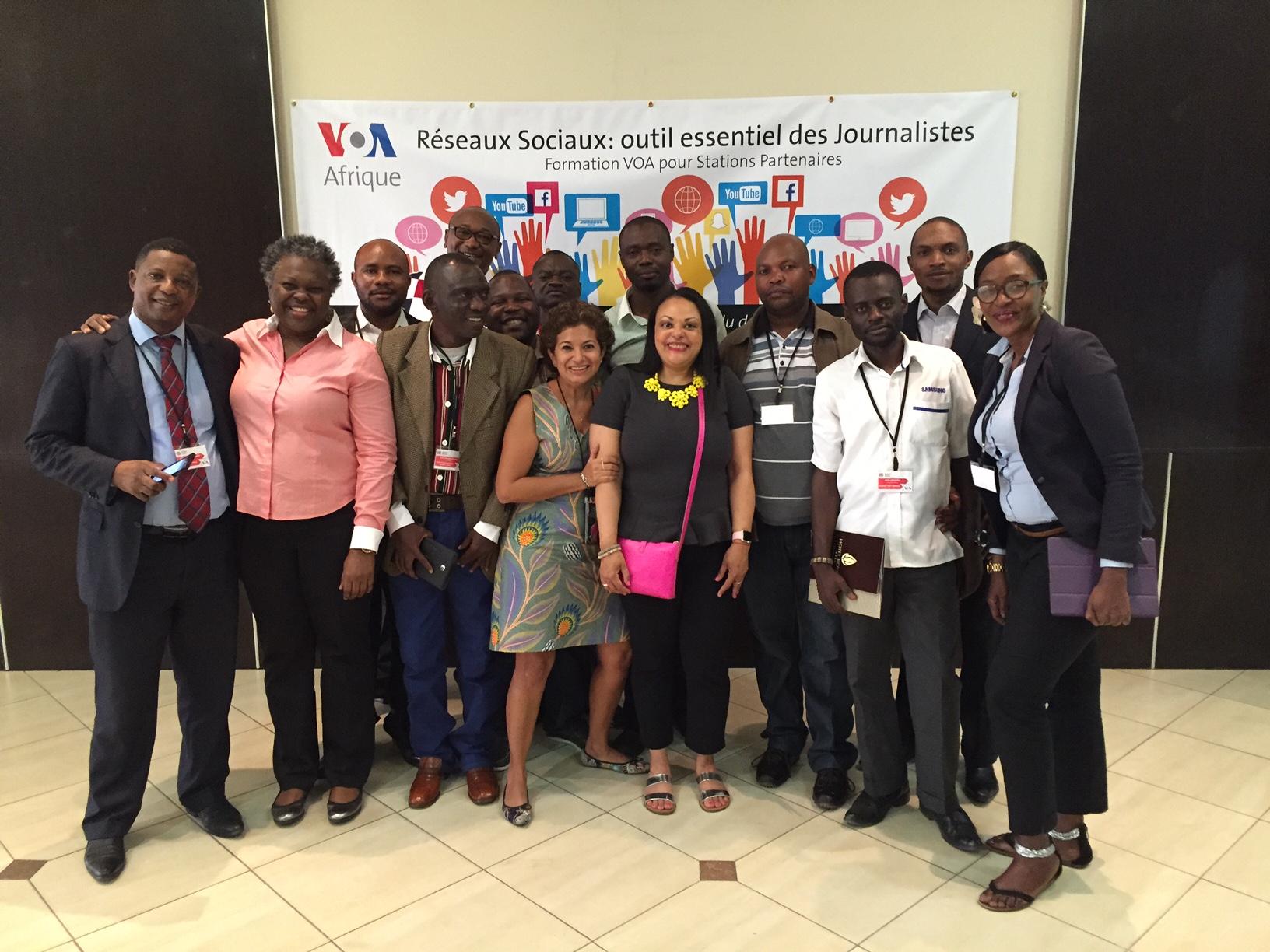 Social Media Training: Cote D'Ivoire and Democratic Republic of Congo
