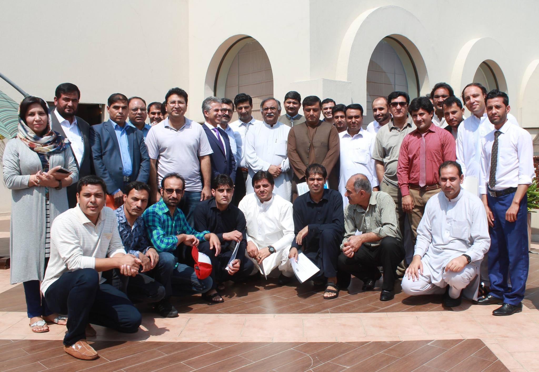 Polio Media Training: Islamabad, Pakistan