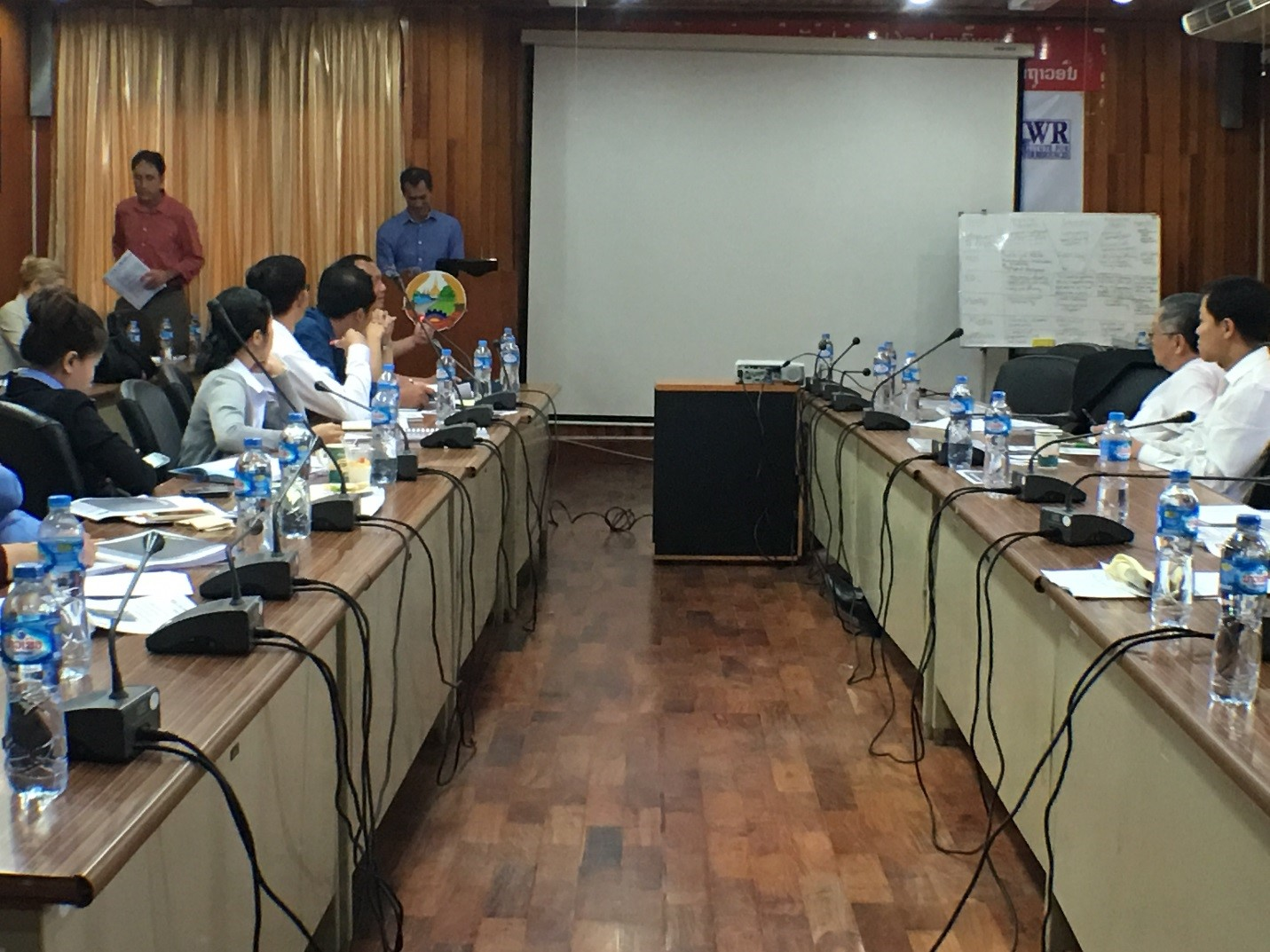 Covering Water Infrastructure: Laos