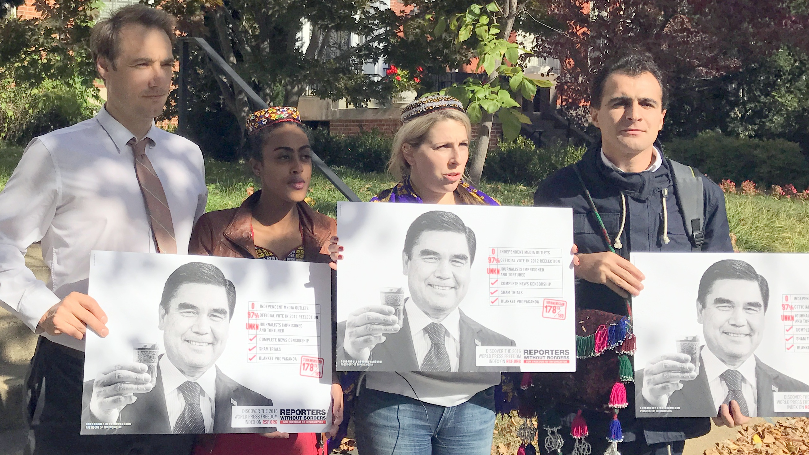 Washington rally marks Nepeskuliev detention