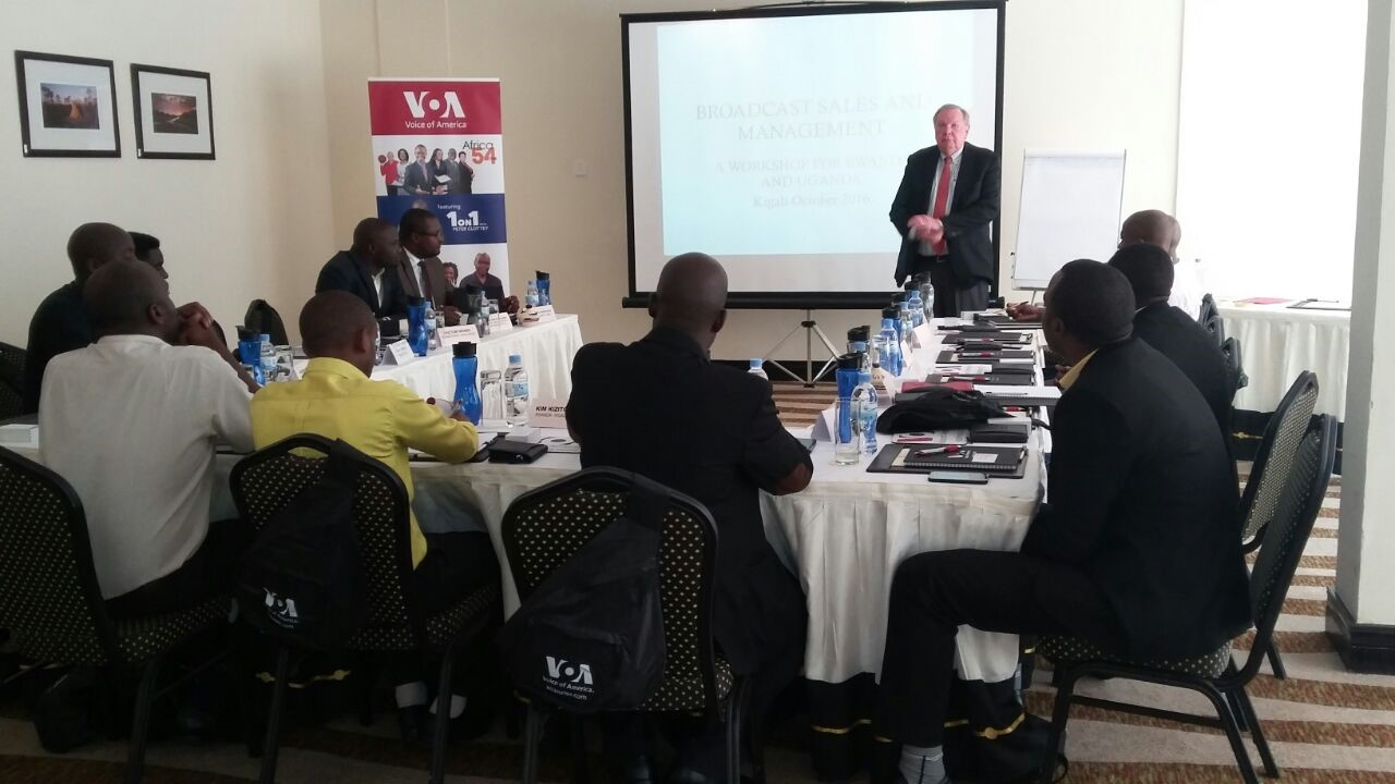 Radio-TV Advertising and Sales Training: Rwanda and Uganda