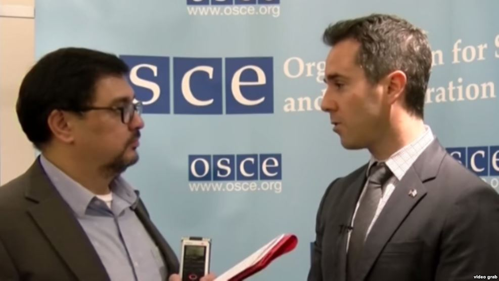 U.S. OSCE envoy condemns punitive actions against journalists in Central Asia