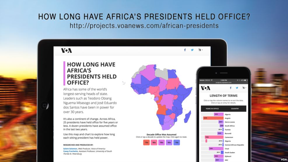 VOA's digital project wins second place at African Media Awards