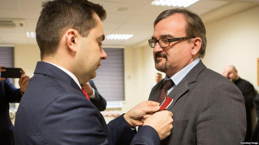 RFE/RL journalist awarded Bene Merito medal