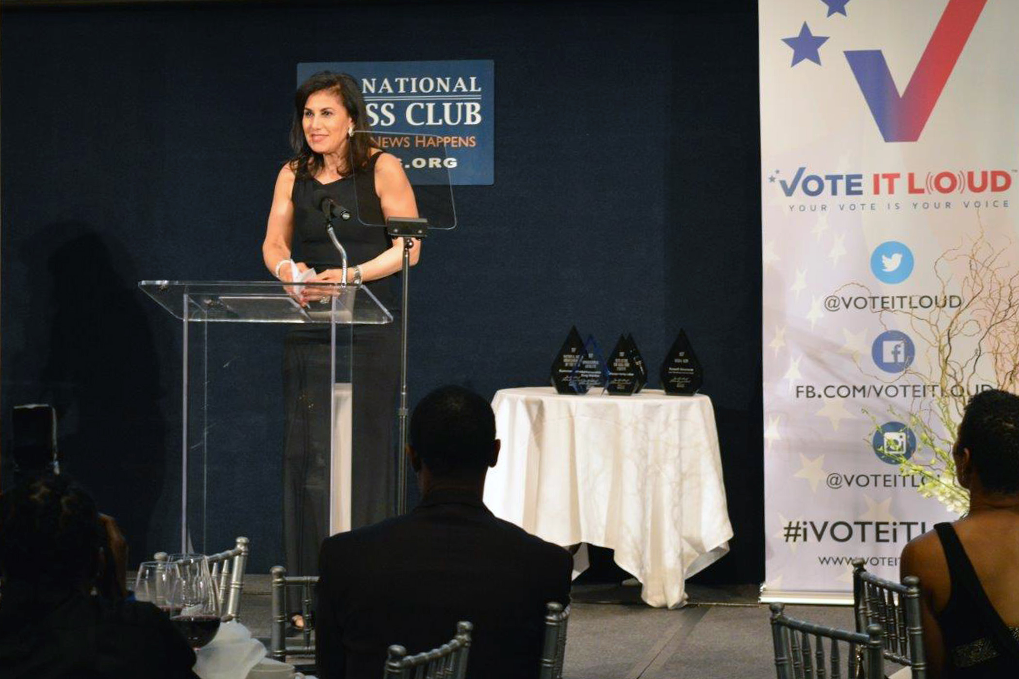 Radio Sawa correspondent honored at the Multicultural Correspondents Dinner