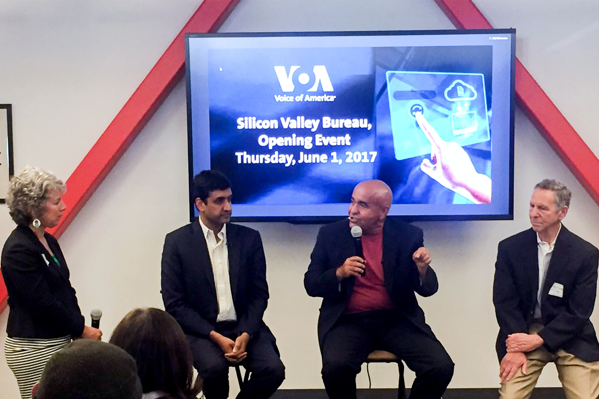 Entrepreneurs, thought leaders debate high tech immigration as VOA opens Silicon Valley Bureau