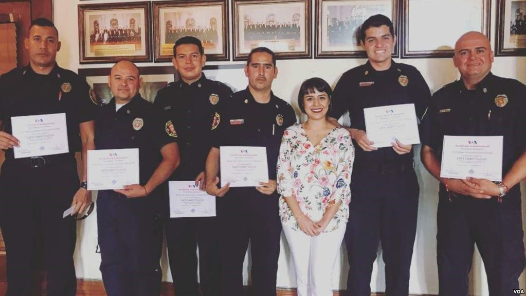 "VOA's ""Let's Learn English"" series aids firefighters in Mexico"