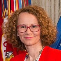 Radmila Sekerinska Deputy Prime Minister and Defense Minister of Macedonia  image