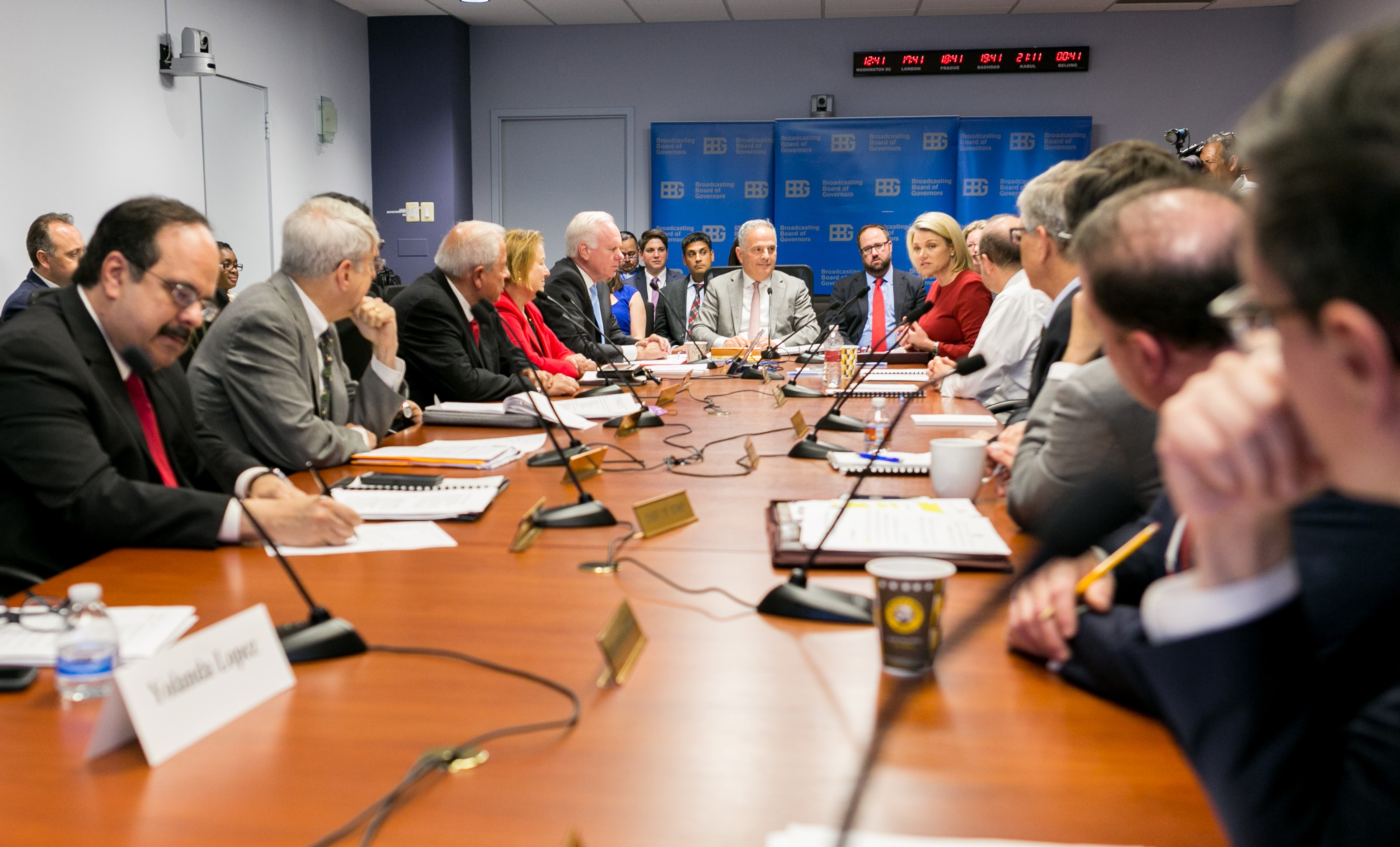 New personnel and high-quality content the focus of BBG board meeting