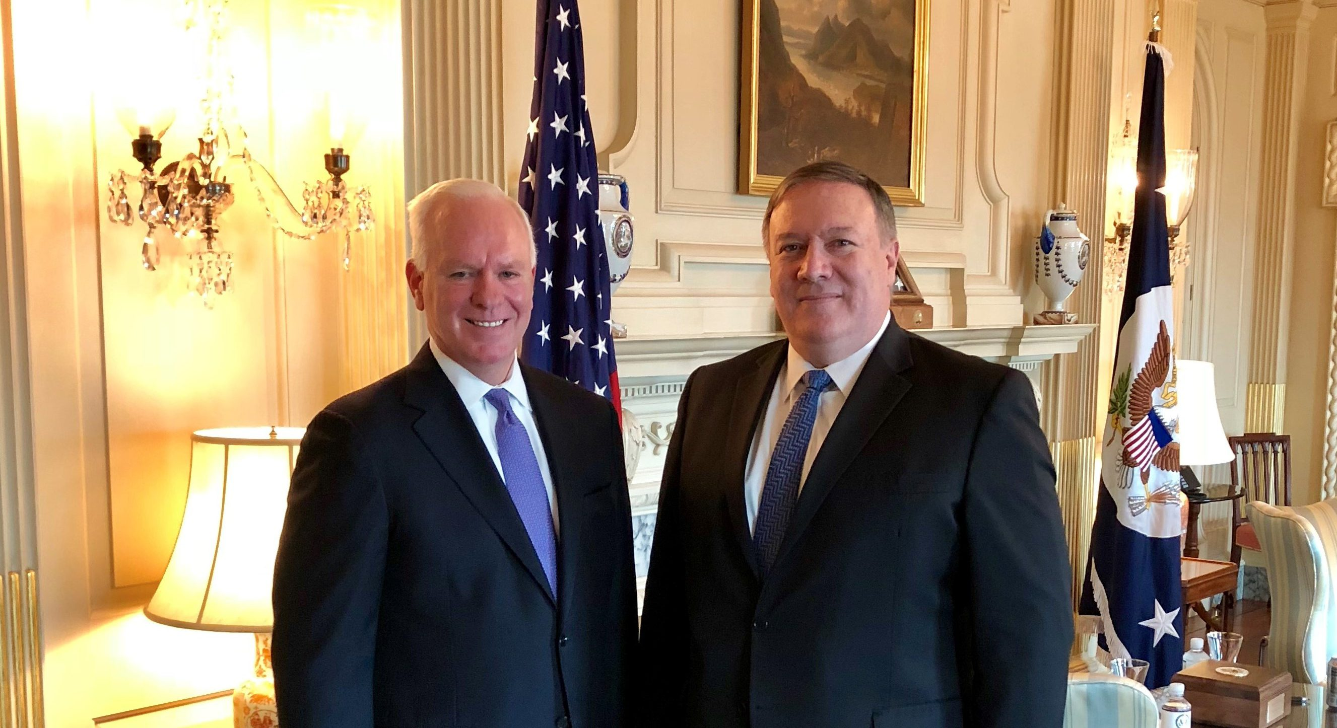 U.S. Secretary of State Michael Pompeo voices support for USAGM efforts