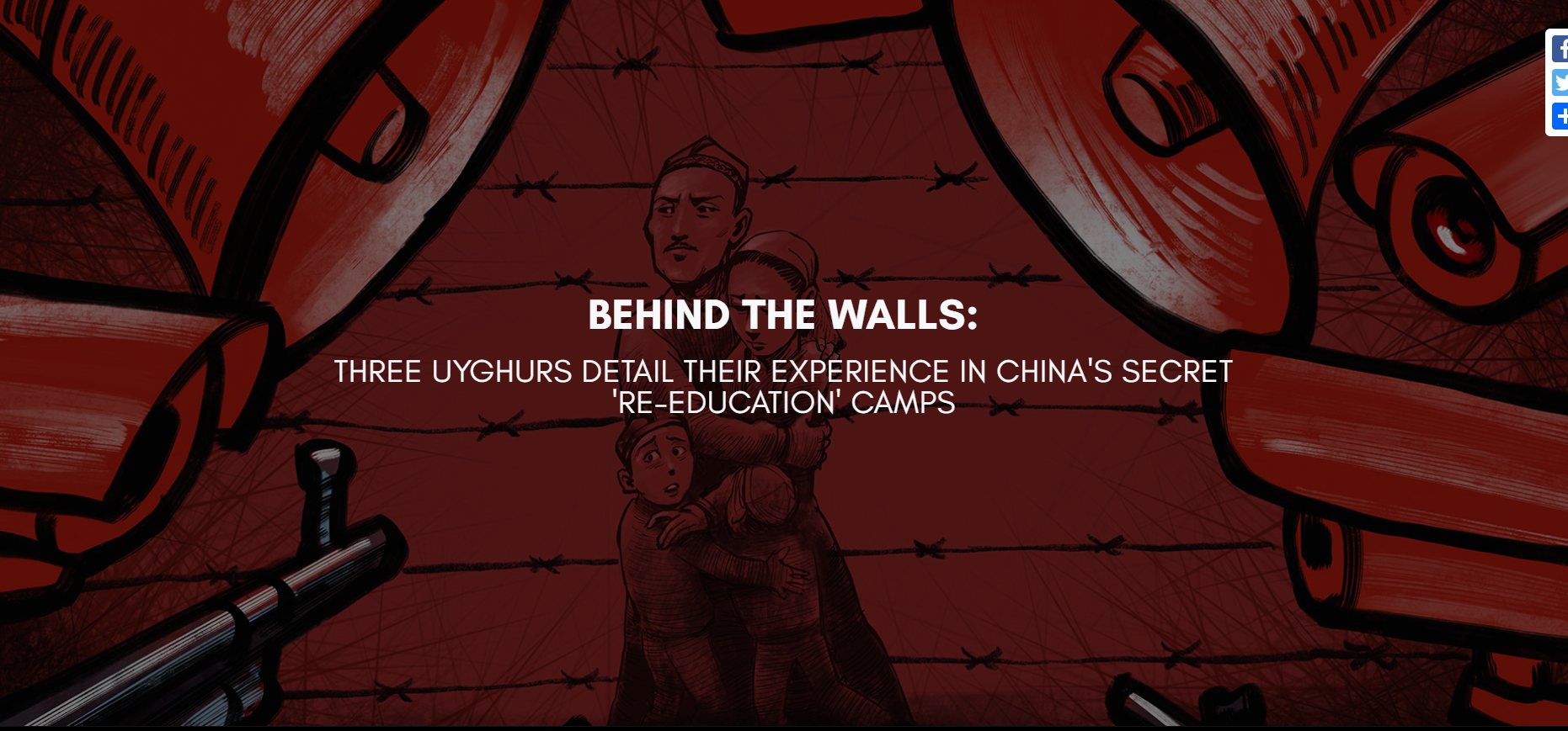Radio Free Asia launches documentary on former Uyghur detainees