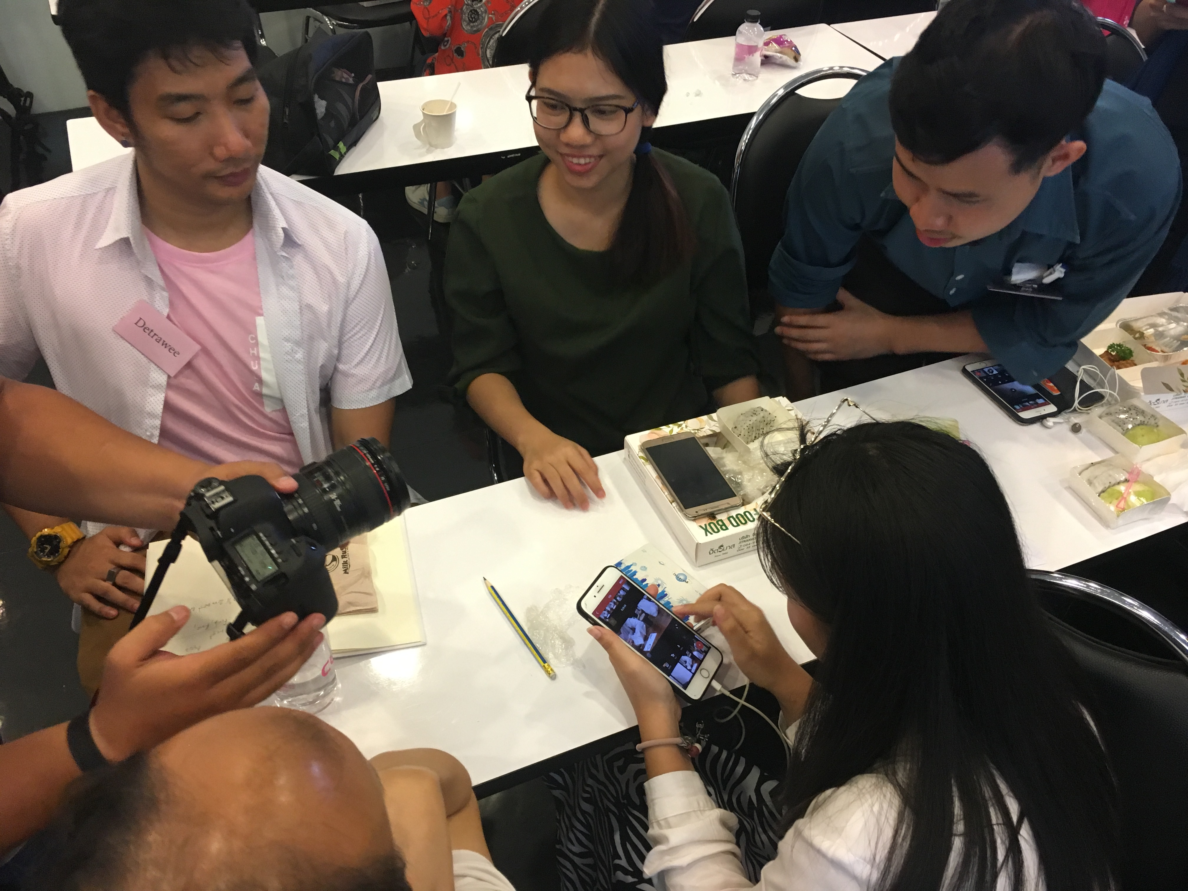 Mobile journalism training in Bangkok