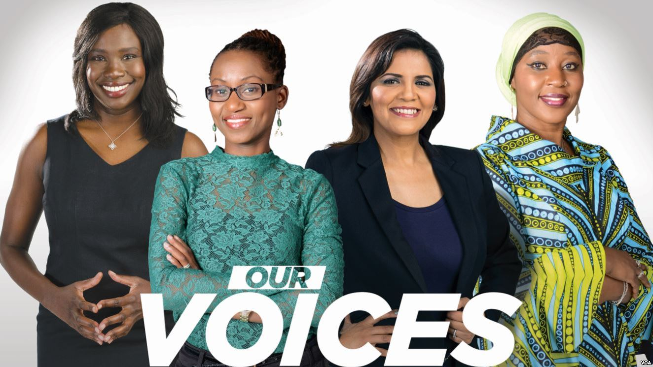 "Voice of America launches ""Our Voices,"" a Pan-African women's show"