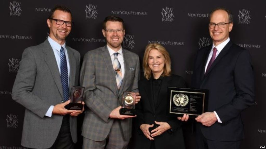 VOA takes multiple medals at New York Festivals Awards