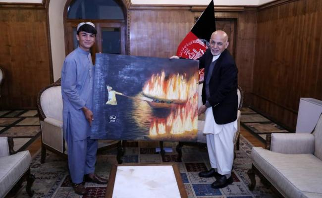 RFE/RL Afghan Service reporting changes the life of young Afghan artist