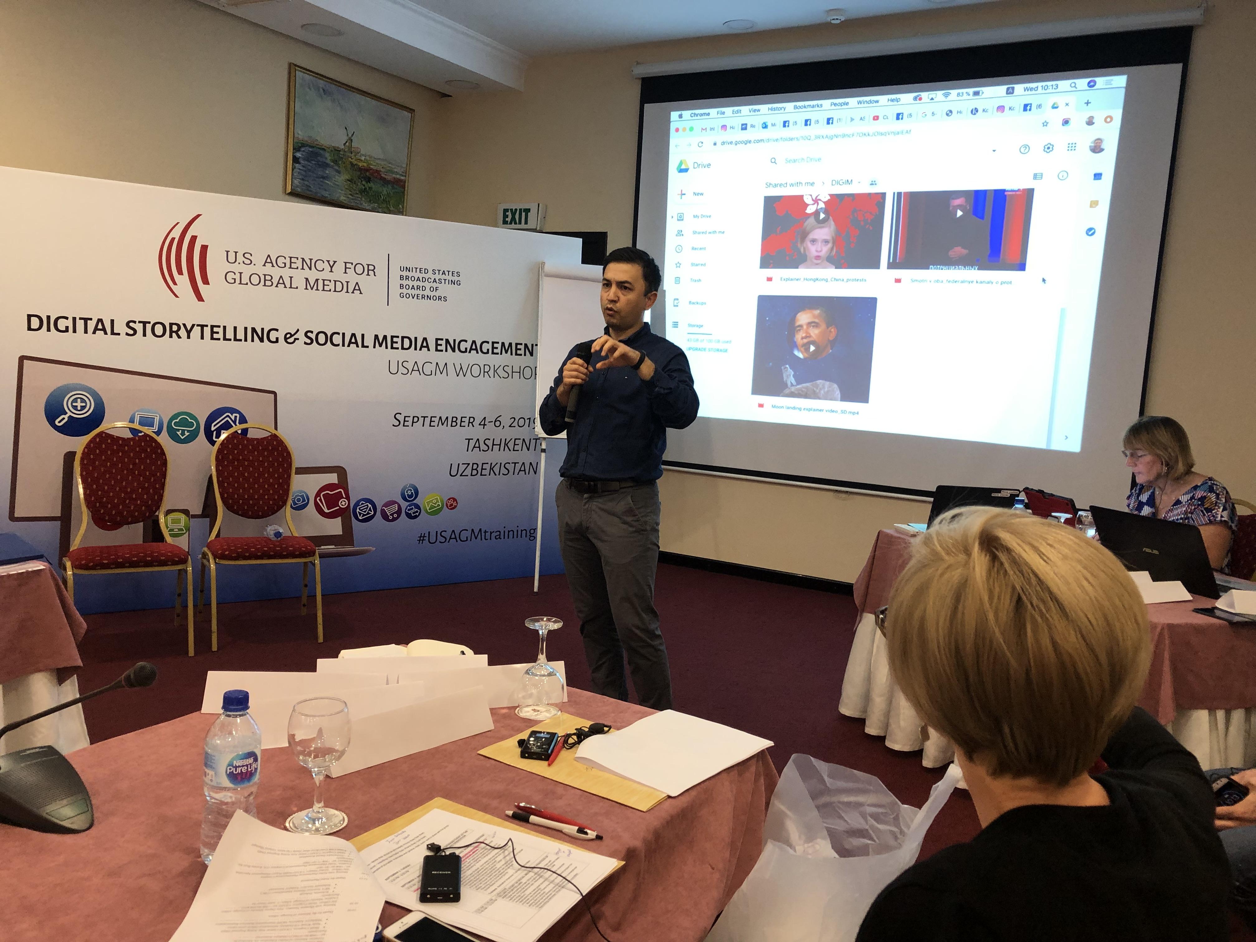 Uzbekistan: Digital Storytelling & Social media Engagement