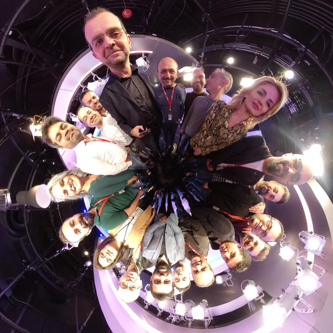 Alhurra TV's Creative Services Team