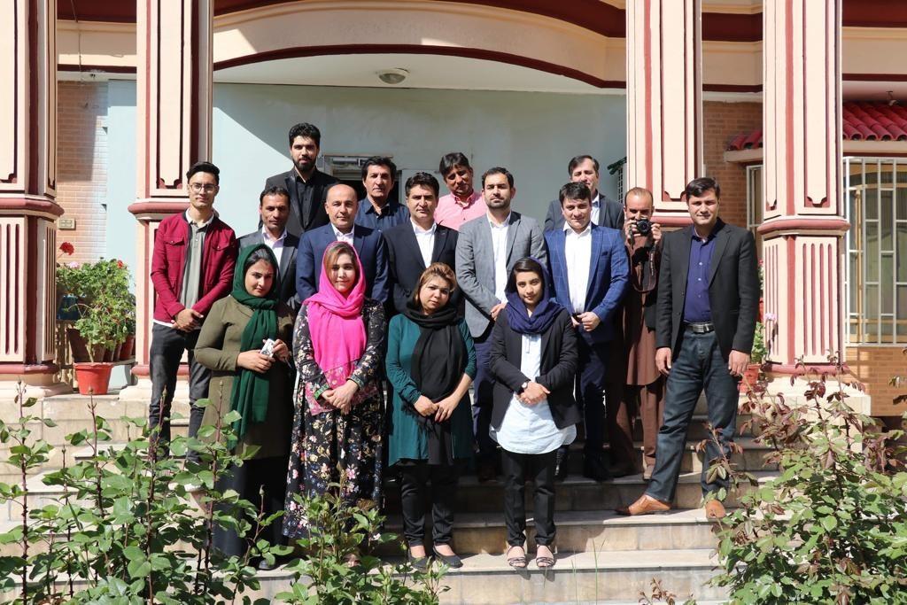 Staff and journalists of Radio Azadi