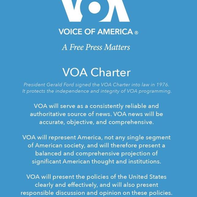 VOA Charter