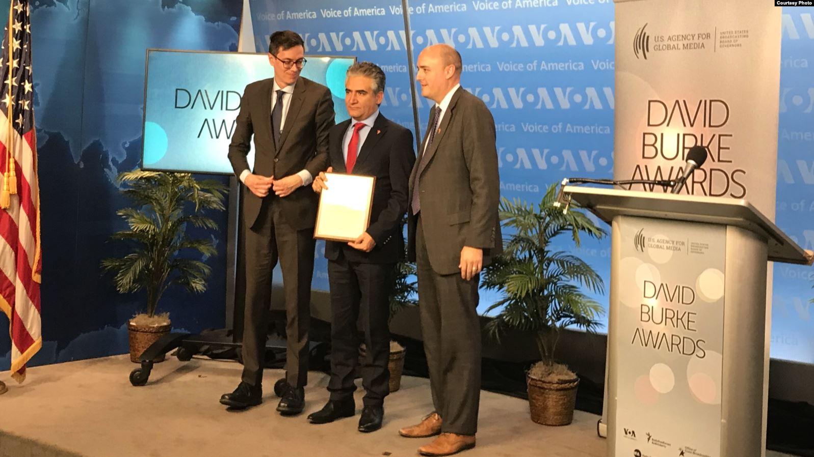 RFE/RL Afghan Service receives David Burke journalism award