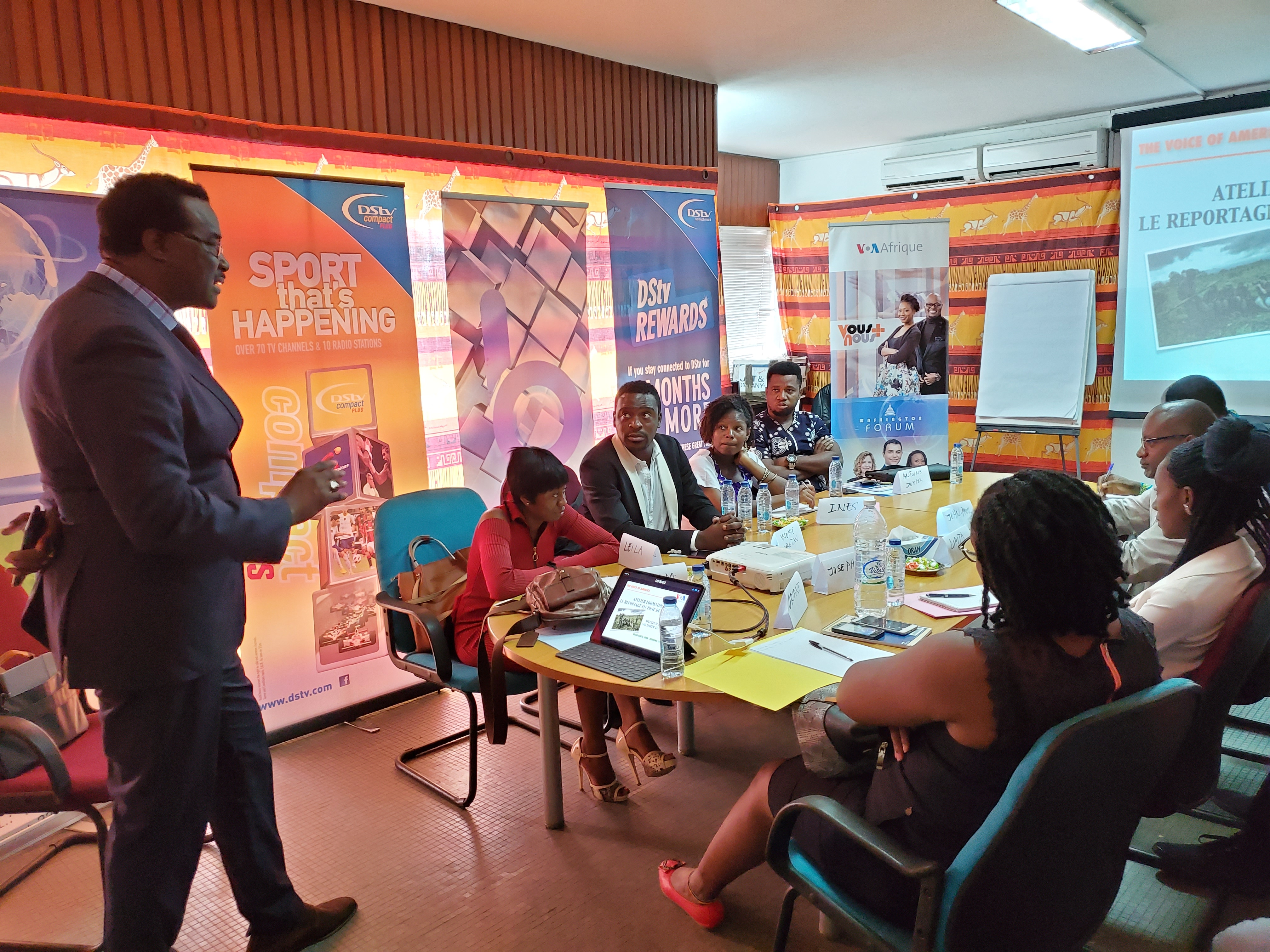Cameroon: Reporting in conflict zones