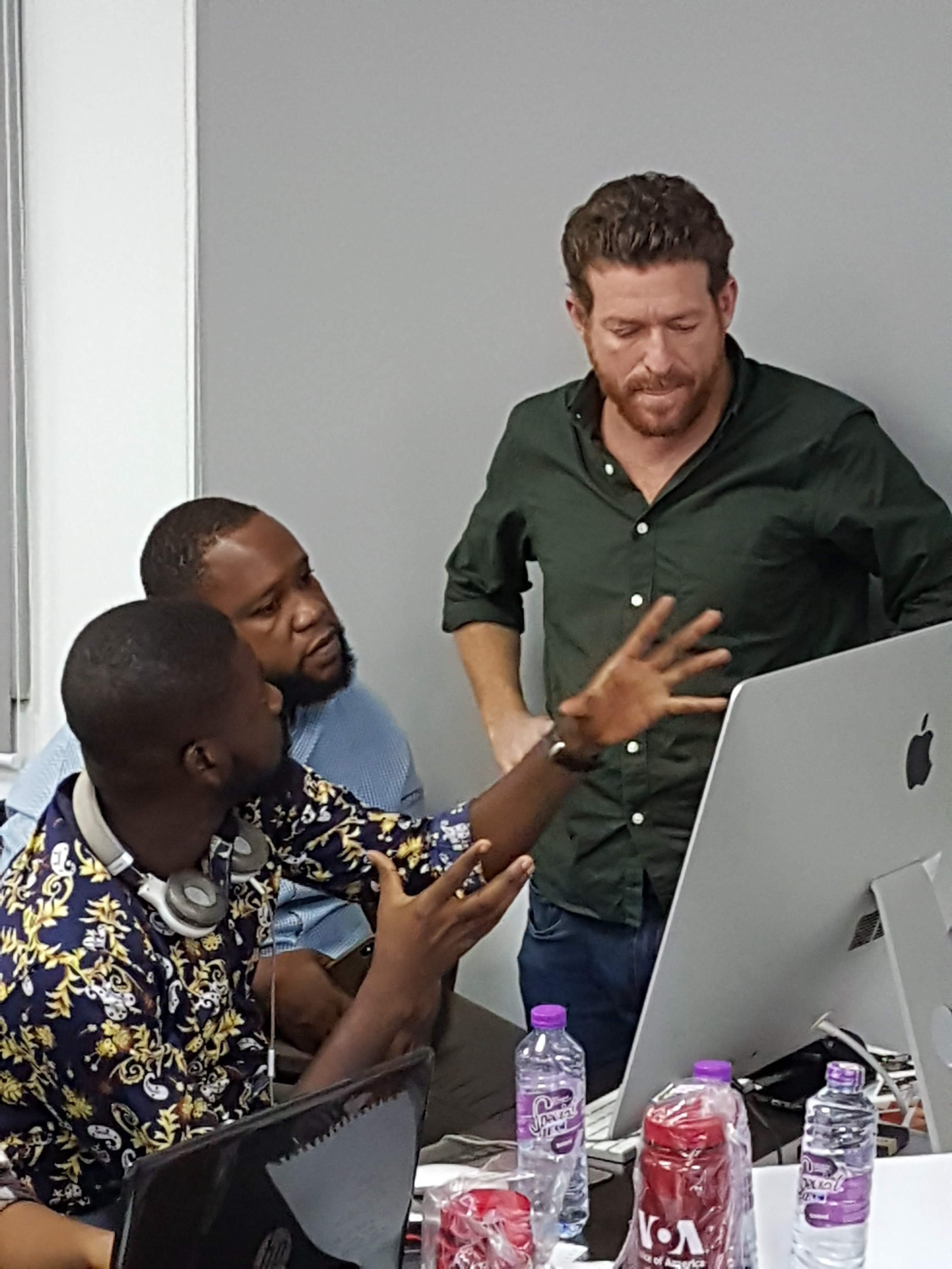 StartUP Africa Training in Ghana