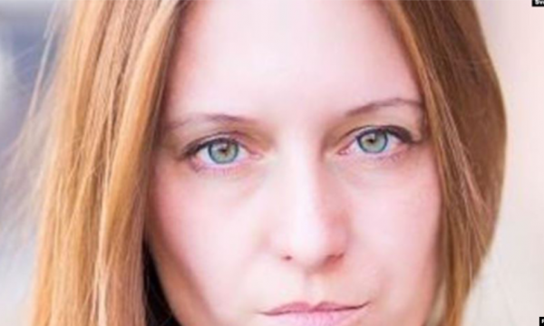 blond woman with blue eyes Svetlana Prokopyeva