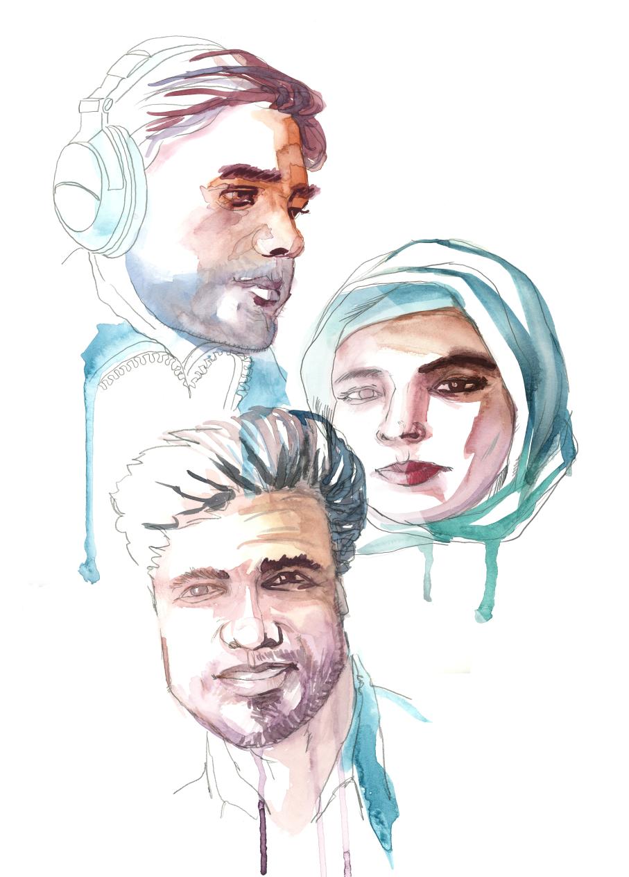 Sabawoon Kakar, Abudullah Hananzai and Maharram Durrani