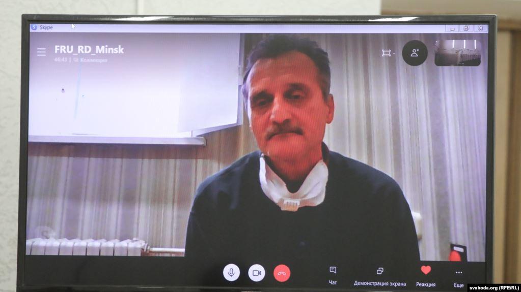 RFE/RL condemns verdict against Belarusian journalist Aleh Hruzdzilovich