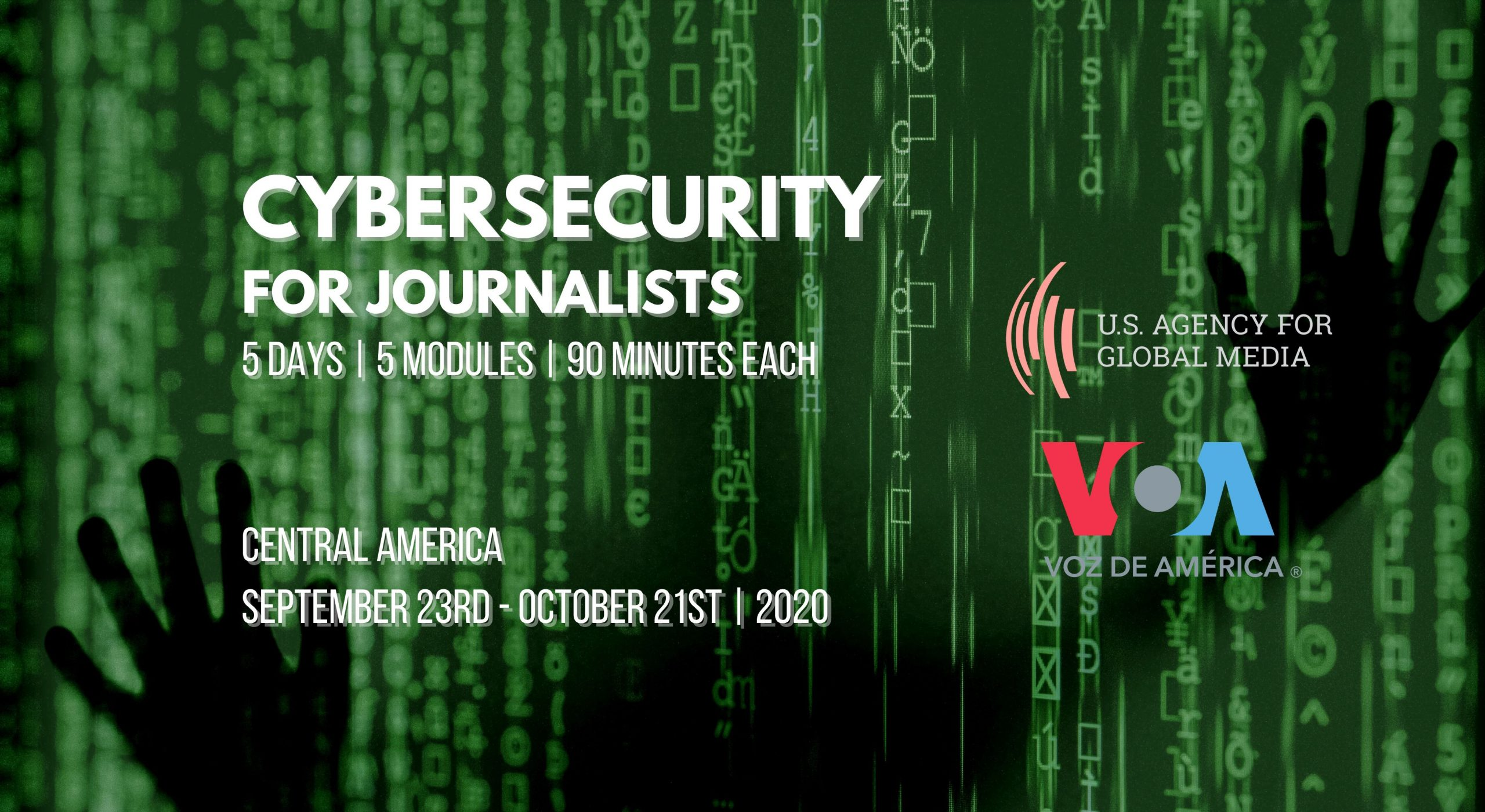 Central America: Cybersecurity for journalists