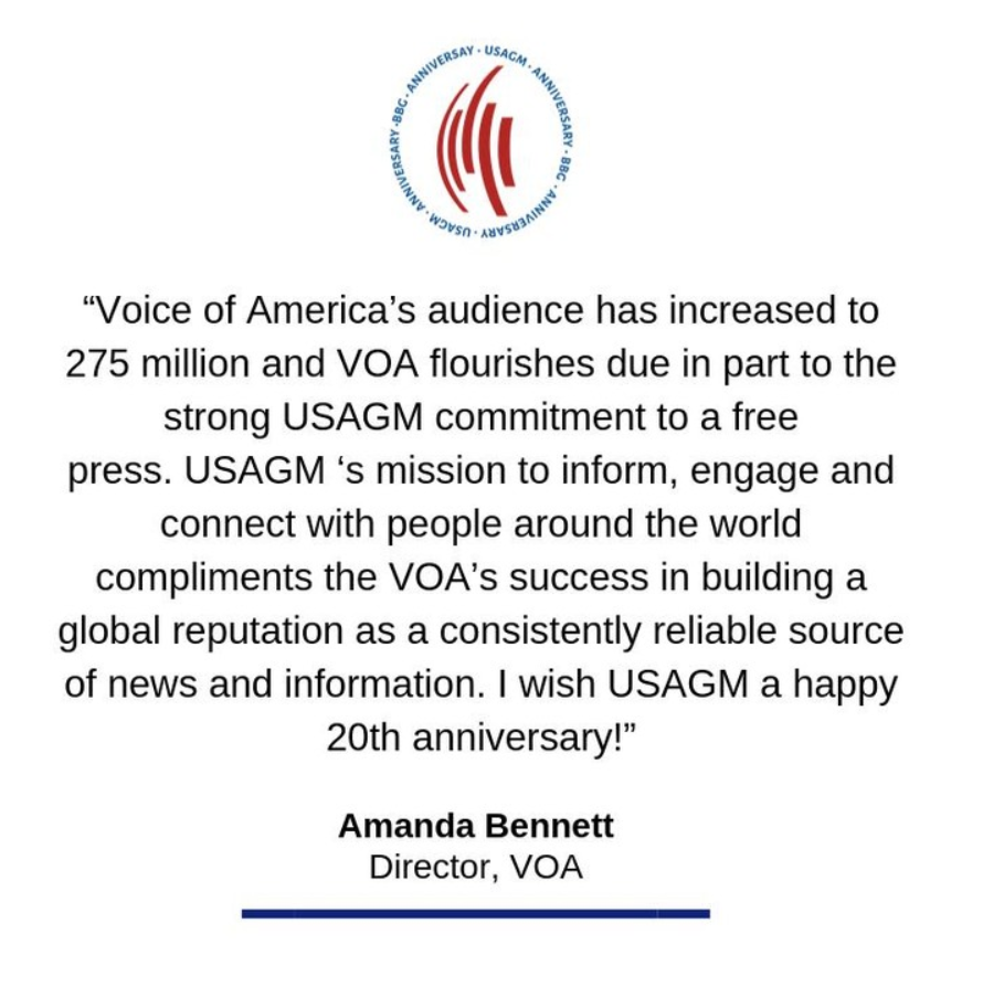 About Voice of America