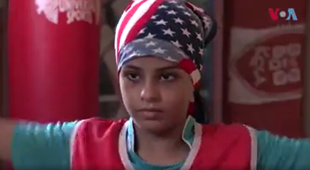 Punching through barriers: Meet a young female boxer in Pakistan