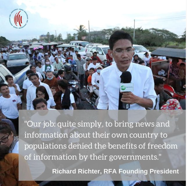 Learn more about Radio Free Asia