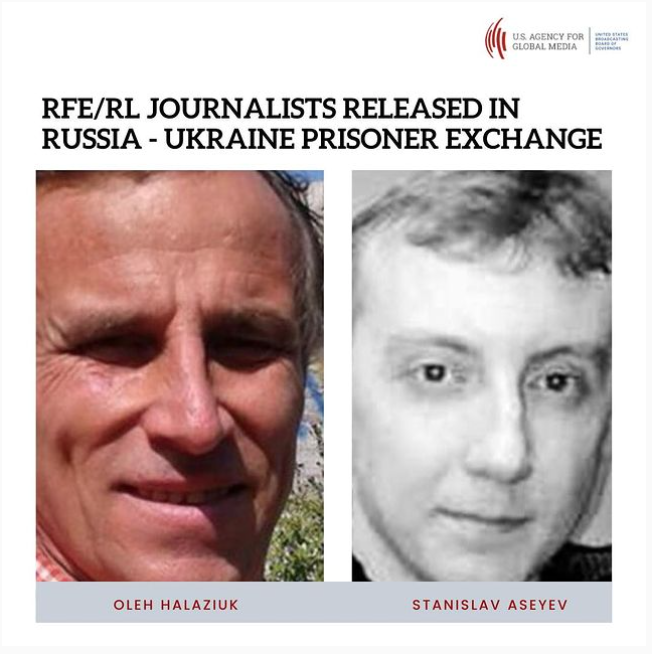 RFE/RL contributors released by Russian-backed separatists