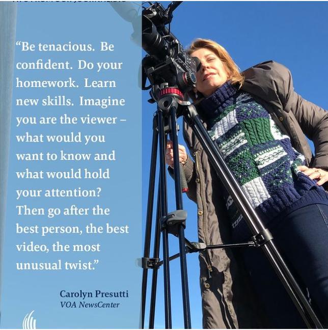 Meet VOA Journalist Carolyn Presutti
