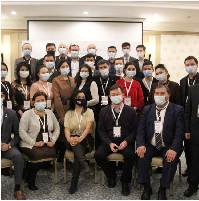 Journalism training in Uzbekistan