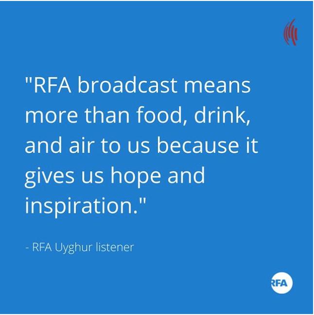 RFA audience impact