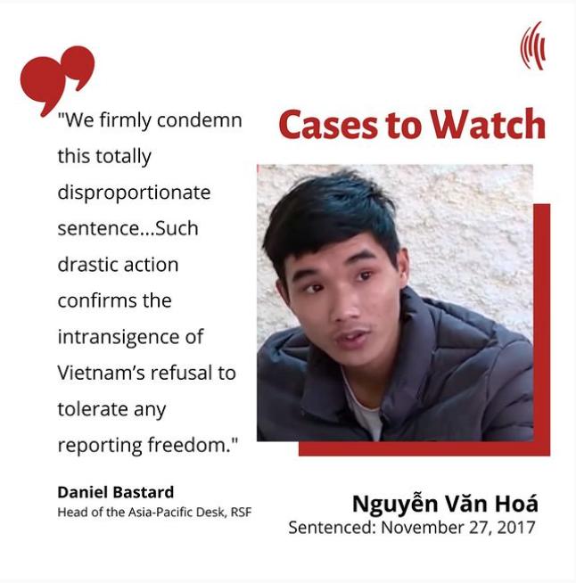Cases to Watch – Nguyễn Văn Hoá