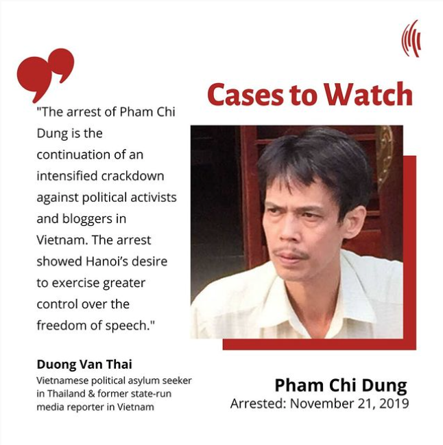 Cases to Watch – Pham Chi Dung