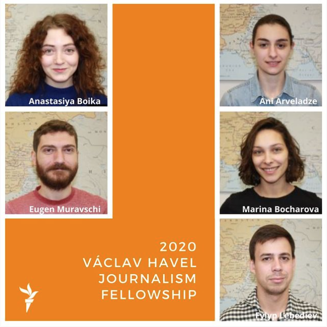 2020 Václav Havel Journalism Fellows