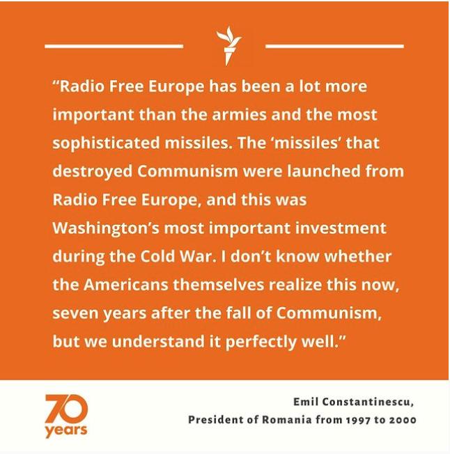RFE/RL's 70th Anniversary
