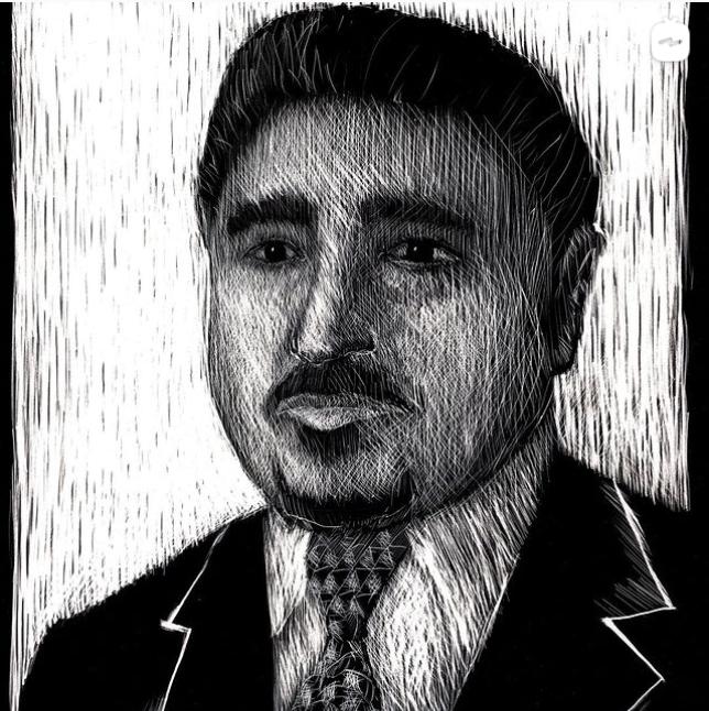 Fallen Journalist Portrait Project – Nazar Abdulwahid Al-Radhi