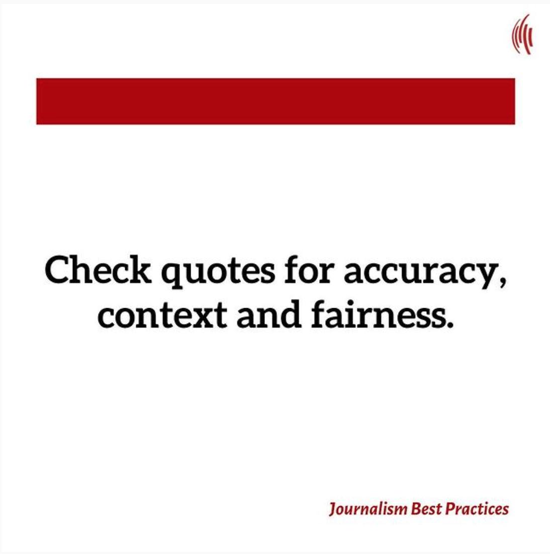 VOA's Best Practices