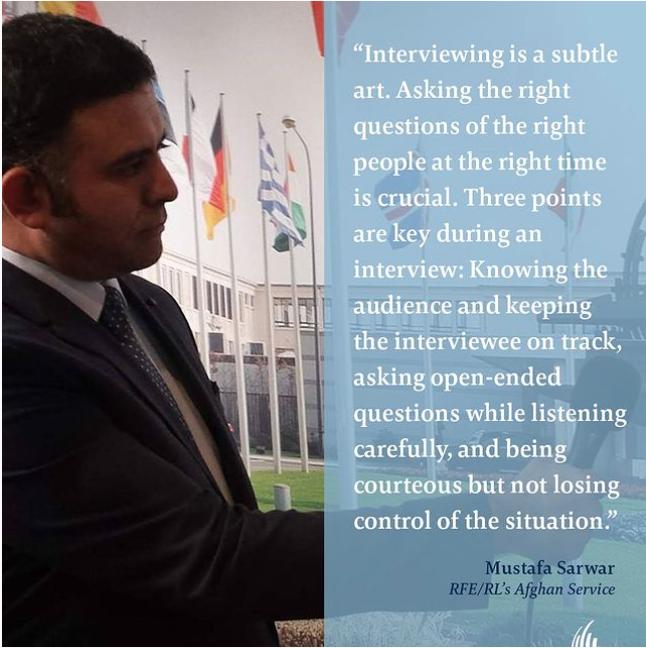 Tips from Journalists – Mustafa Sarwar