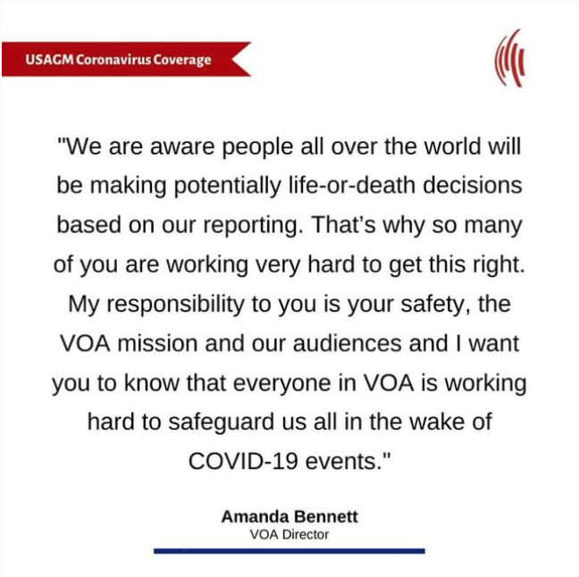 From the VOA Director
