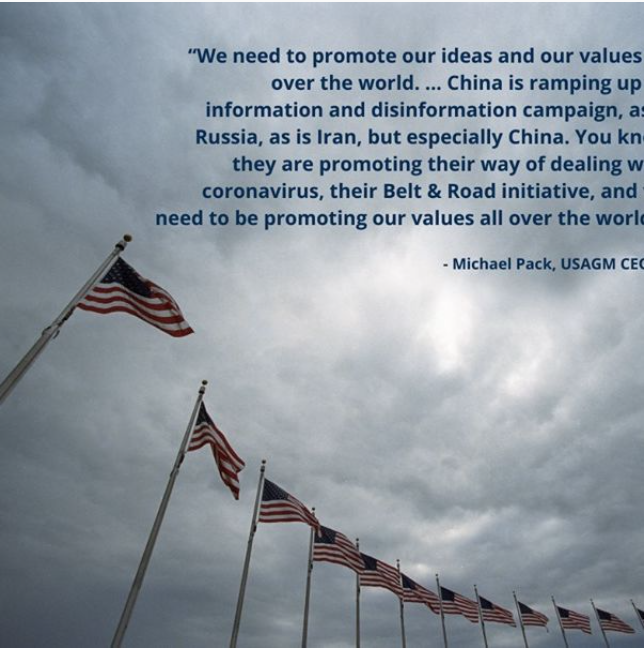 American Thought Leaders: Tax-Funded US Media Should Promote American Values Abroad